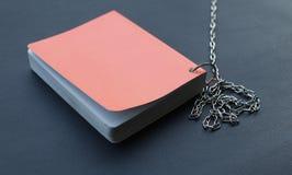 Libro arancione 2 Fotografia Stock Libera da Diritti