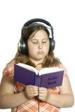 Libro audio Foto de archivo libre de regalías