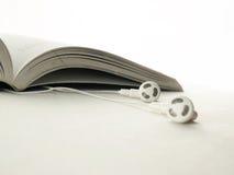 Libro audio Fotografía de archivo libre de regalías