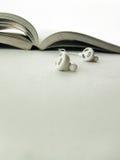 Libro audio Fotos de archivo libres de regalías