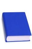 Libro azul aislado Imagen de archivo libre de regalías