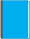 Libro azul grueso Fotografía de archivo