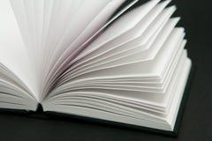 Libro in bianco Fotografie Stock