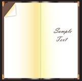 Libro in bianco Immagine Stock