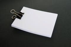 Libro Bianco Fotografie Stock