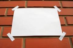 Libro Bianco Fotografia Stock Libera da Diritti