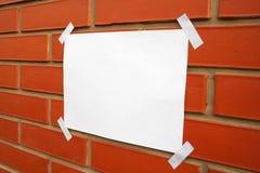 Libro Bianco Fotografia Stock