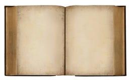 Libro in bianco dell'annata Fotografia Stock Libera da Diritti
