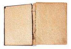 Libro in bianco dell'annata Immagini Stock
