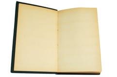 Libro in bianco dell'annata Fotografia Stock
