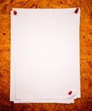 Libro Bianco su una scheda del rubinetto Immagini Stock