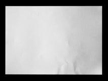 Libro Bianco sul nero fotografie stock libere da diritti