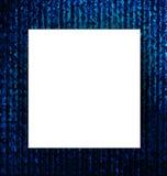 Libro Blanco con el fondo azul abstracto del grunge ilustración del vector