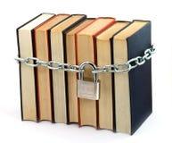 Libro bloqueado fotografía de archivo libre de regalías