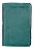 Libro blu del vecchio aqua fotografia stock libera da diritti