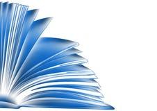 Libro blu. illustrazione di stile di abbozzo illustrazione vettoriale