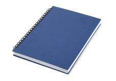 Libro cerrado azul Fotografía de archivo libre de regalías