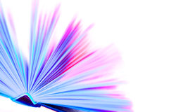Libro colorato Fotografia Stock Libera da Diritti