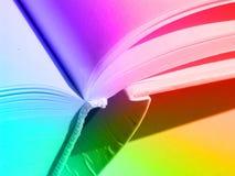 Libro coloreado foto de archivo