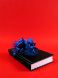 Libro come regalo per natale immagine stock