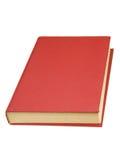 Libro con il coperchio rosso Fotografia Stock