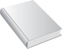 Libro con la cubierta en blanco Foto de archivo libre de regalías