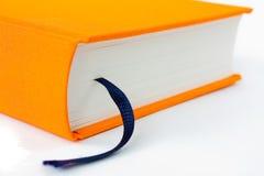 Libro con la fine del segnalibro in su fotografia stock libera da diritti