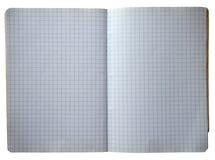 Libro con los cuadrados Imagenes de archivo