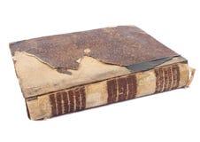 Libro consumato Fotografia Stock