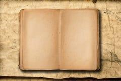 Libro d'annata con spazio vuoto da scrivere fotografie stock libere da diritti