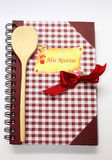 Libro de cocina. Fotografía de archivo libre de regalías