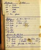 Libro de cocina fotos de archivo libres de regalías