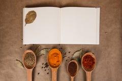 Libro de cocina Imagen de archivo