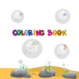 Libro de colorear Imagenes de archivo
