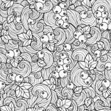 Libro de colorear para el adulto ilustración del vector
