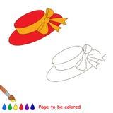Libro de colorear para los niños Foto de archivo