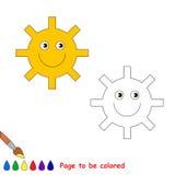 Libro de colorear para los niños Imágenes de archivo libres de regalías