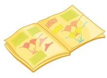 Libro de cuadro stock de ilustración