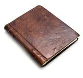 Libro de cuero Imágenes de archivo libres de regalías