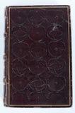 Libro de cuero antiguo Fotografía de archivo libre de regalías