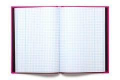 Libro de ejercicio Imágenes de archivo libres de regalías