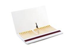 Libro de emparejamientos Fotografía de archivo libre de regalías