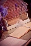 Libro de huésped de la boda imágenes de archivo libres de regalías
