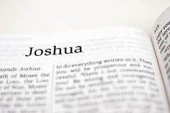 Libro de Joshua Fotografía de archivo libre de regalías