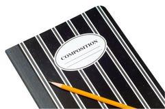 Libro de la composición Fotos de archivo