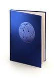 Libro de la comunicación - trayectoria de recortes Foto de archivo libre de regalías
