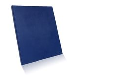 Libro de la cubierta en blanco Fotos de archivo libres de regalías