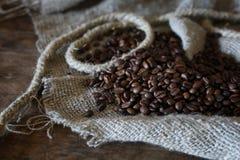 Libro de la cuerda del grano de café Imágenes de archivo libres de regalías