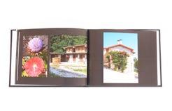 Libro de la foto imagenes de archivo