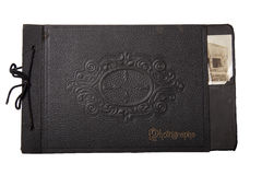 Libro de la fotografía de la vendimia Fotografía de archivo libre de regalías